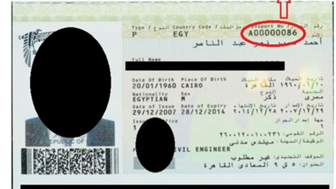 Passport example